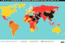 Libertà di stampa, l'Italia è fanalino di coda in Europa