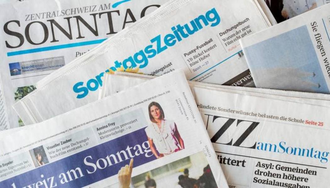 Media, perfino i giornali svizzeri perdono copie