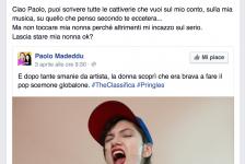 Solidarietà al critico musicale Madeddu aggredito via social dai fan di Elisa