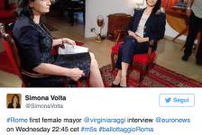Tv, la Raggi snobba Roma e sceglie EuroNews