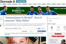 """(NOTIZIE TROPPO VERE) """"Ammazziamo la Merkel"""". Ecco il concorso """"Miss Hitler"""""""