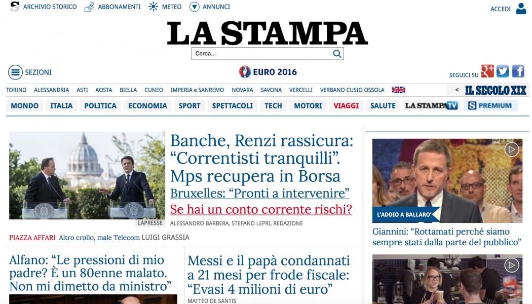 La Stampa è il primo quotidiano italiano ad arrivare (gratis) su Underground di Amazon