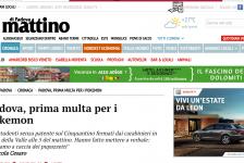 (NOTIZIE TROPPO VERE) Padova, prima multa per i Pokemon