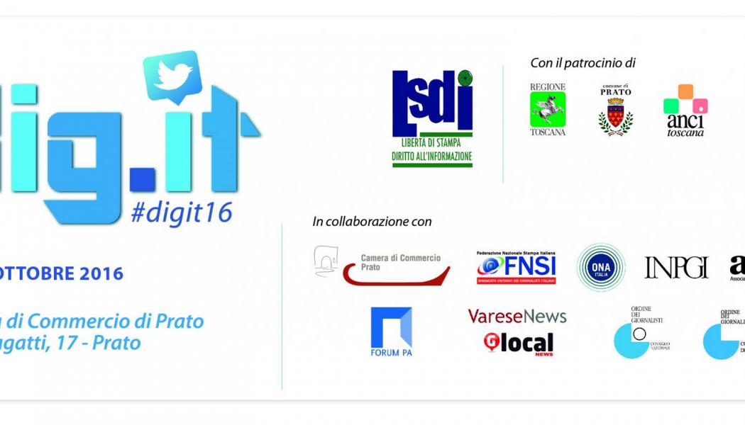 Tutto pronto per Digit festival, anche su Telgram
