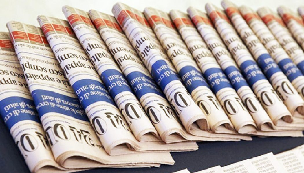 Giornalisti del Gruppo 24 Ore in sciopero, i documenti dei Cdr