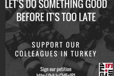 Ifj, è allarme (internazionale) per la libertà di stampa in Turchia!