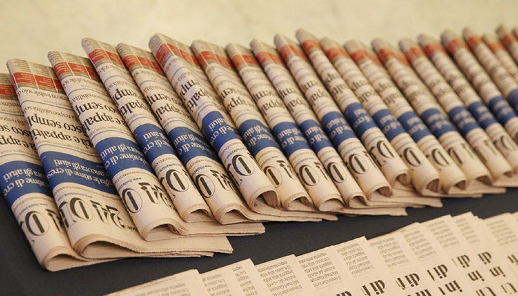 """Al """"Sole 24 Ore"""" i giornalisti attuano lo sciopero delle firme"""