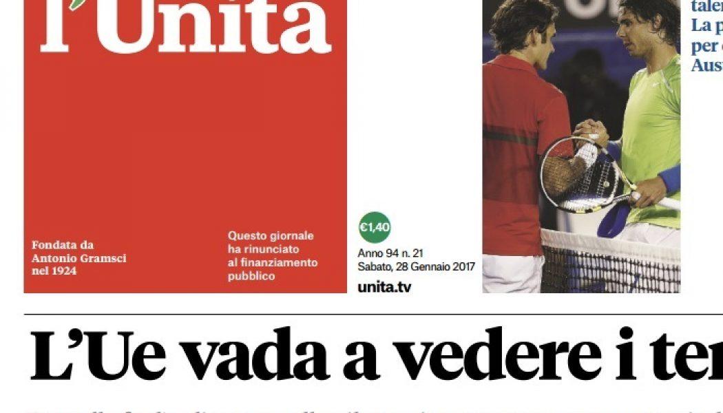 Caso l'Unità, il Cdr denuncia: «Vogliono far morire il giornale». La Fnsi: «Ormai è questione di ordine pubblico, il Pd intervenga»