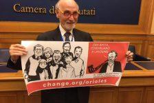 Le firme pro Orioles arrivano alla Camera. Fnsi, Odg e Antimafia: ora fate in fretta