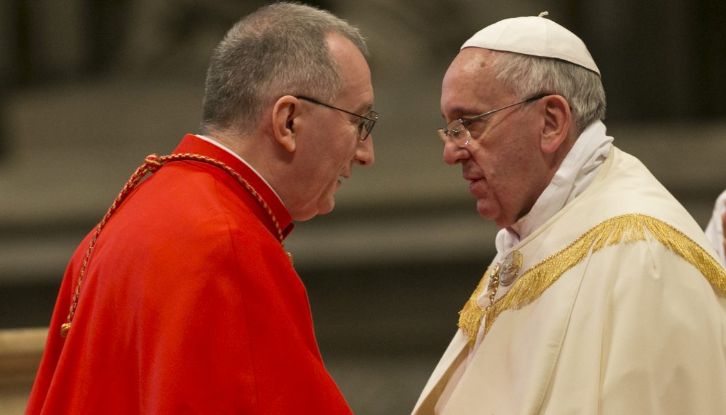 Il cardinale Parolin ai giornalisti: siate occhi e orecchie di chi non può sentire