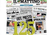 Il Mattino compie 125 anni, grande festa a Napoli. Gli auguri del segretario Raffaele Lorusso