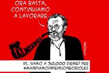 Concessi a Riccardo Orioles i benefici della legge Bacchelli