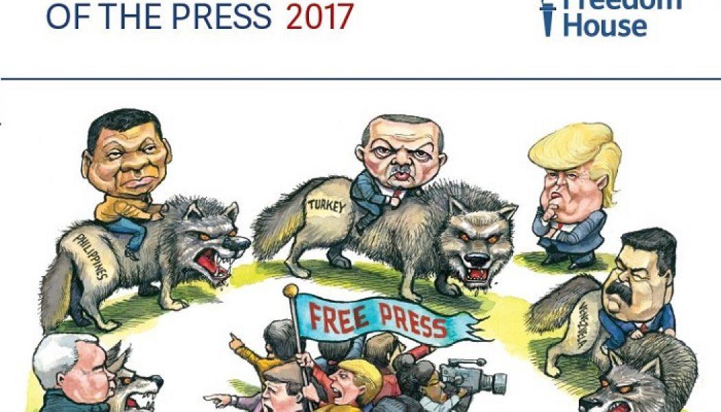 """Stampa italiana """"parzialmente libera"""", così dice il report di Freedom House"""