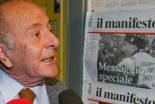 E' morto Valentino Parlato, fondatore de Il Manifesto